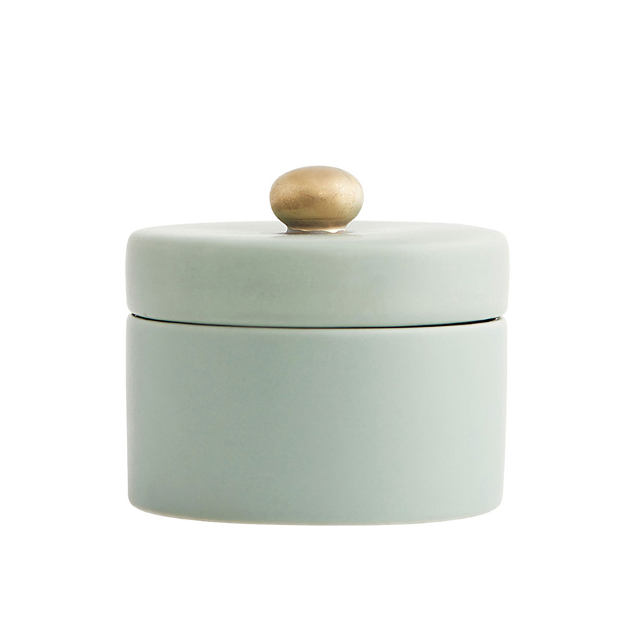 house doctor zuckerdose mit deckel pot hellgrau online. Black Bedroom Furniture Sets. Home Design Ideas