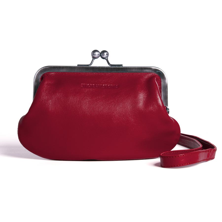 sticks and stones ledertasche malaga red online kaufen. Black Bedroom Furniture Sets. Home Design Ideas