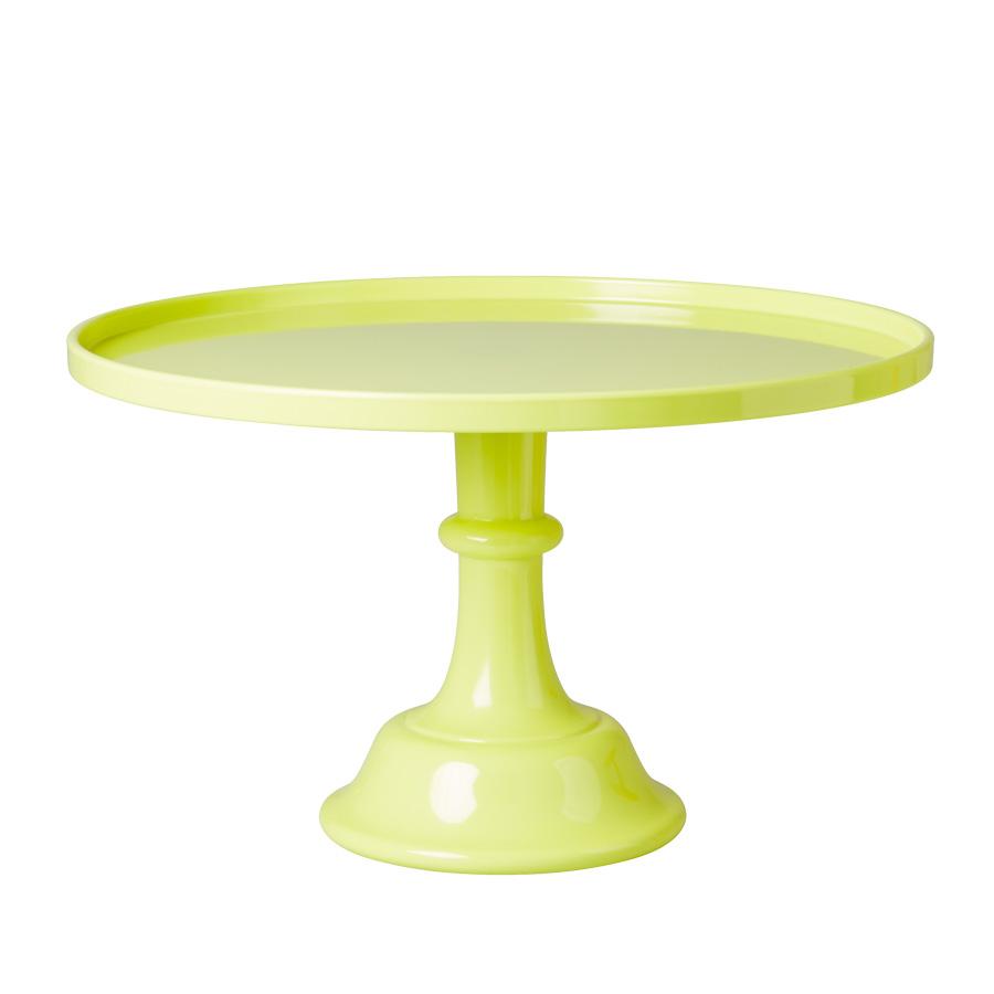 rice melamin tortenst nder neon yellow online kaufen. Black Bedroom Furniture Sets. Home Design Ideas