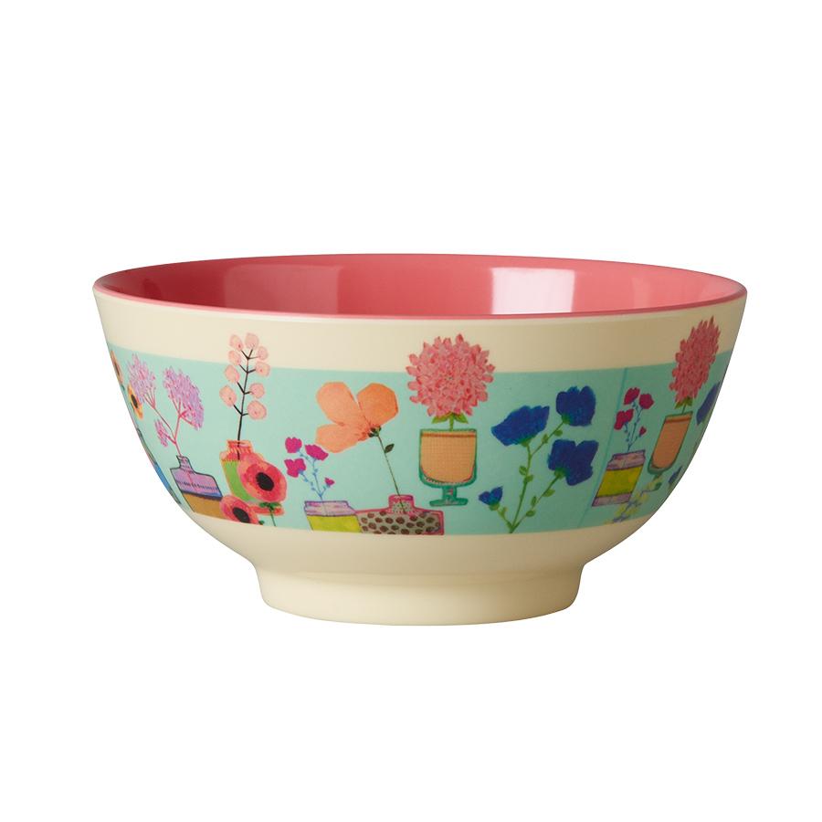 rice melamin sch ssel flower display online kaufen emil. Black Bedroom Furniture Sets. Home Design Ideas