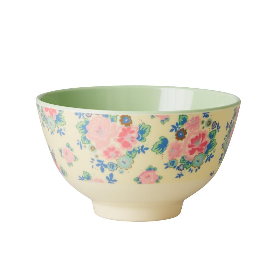 rice kleine melamin schale dutch rose pastel green online kaufen emil paula. Black Bedroom Furniture Sets. Home Design Ideas