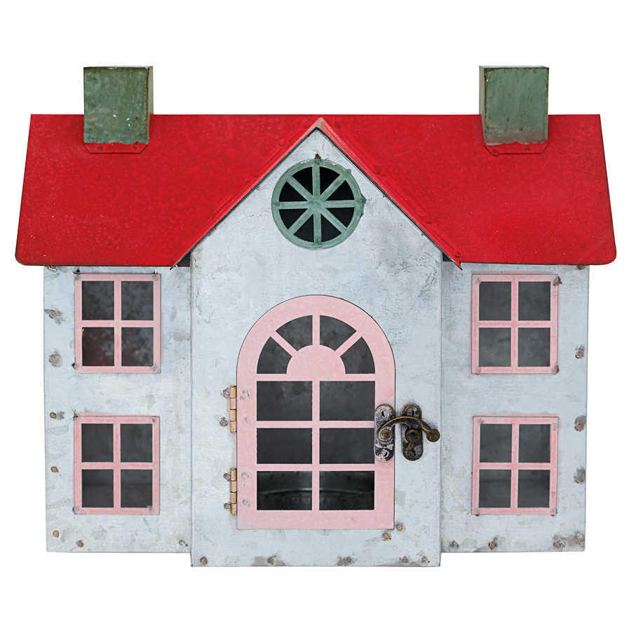 GreenGate Deko Haus Charline Red Large