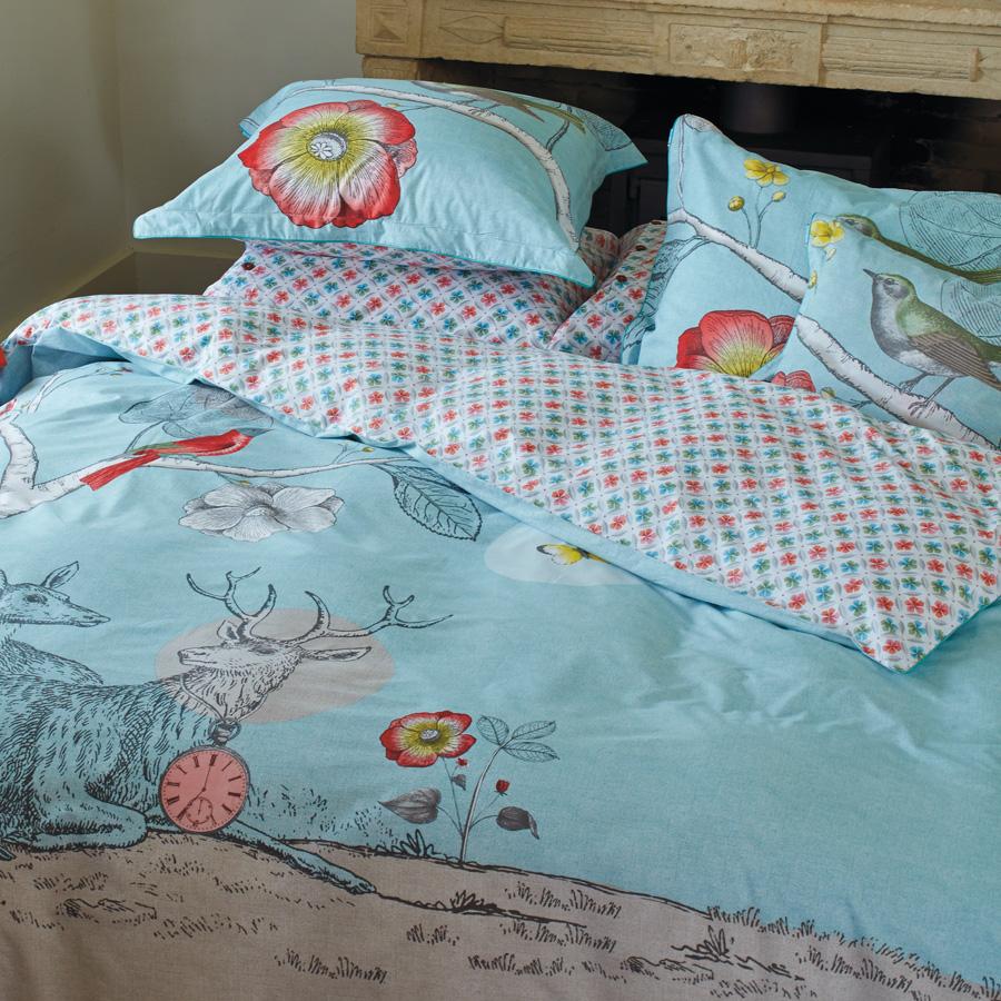 pip studio bettw sche my deerest blue online kaufen emil. Black Bedroom Furniture Sets. Home Design Ideas