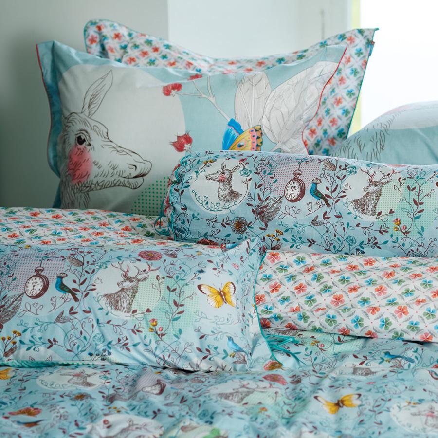 pip studio bettw sche oh deer blue online kaufen emil. Black Bedroom Furniture Sets. Home Design Ideas