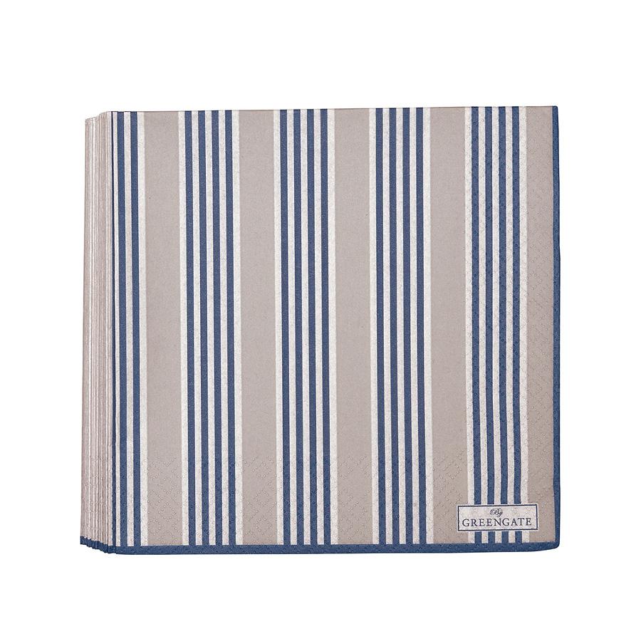 greengate papier serviette nora blue large online kaufen emil paula. Black Bedroom Furniture Sets. Home Design Ideas