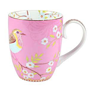 Pip studio mug kaffeebecher early bird pink acheter en - Acheter vaisselle pip studio ...