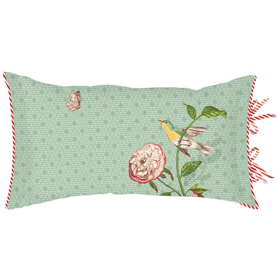pip studio zierkissen pip poppy green online kaufen emil paula. Black Bedroom Furniture Sets. Home Design Ideas