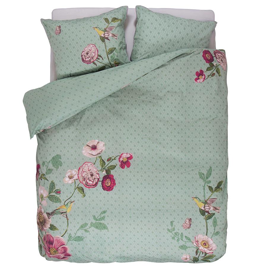 pip studio bettw sche pip poppy green online kaufen emil. Black Bedroom Furniture Sets. Home Design Ideas