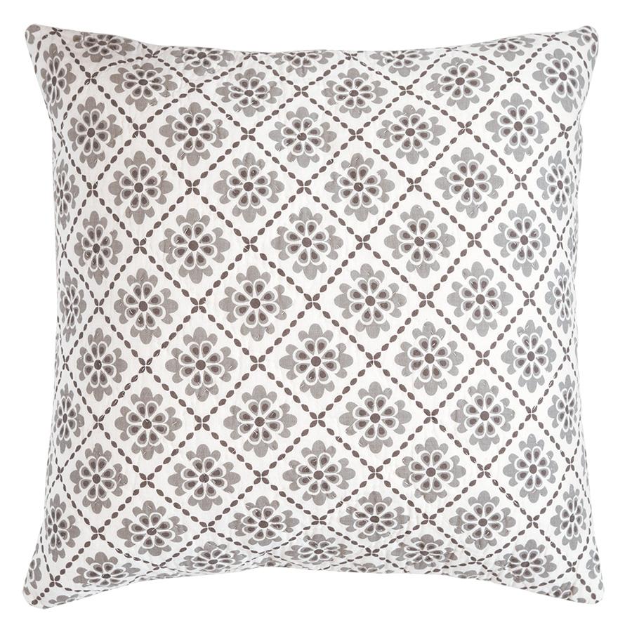 greengate gequiltetes kissen isolde dark grey 50 x 50 cm online kaufen emil paula. Black Bedroom Furniture Sets. Home Design Ideas