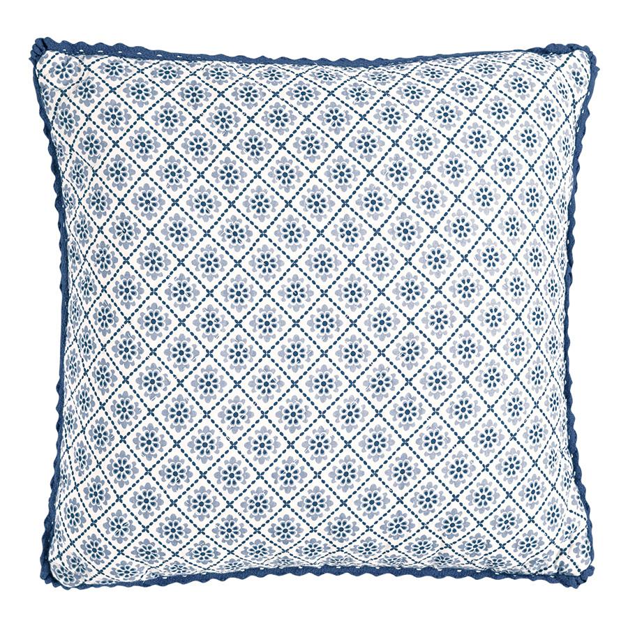greengate gequiltete kissenh lle sadie blue 40 x 40 cm online kaufen emil paula. Black Bedroom Furniture Sets. Home Design Ideas