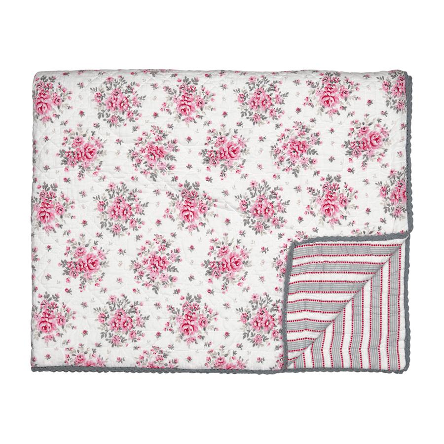greengate quilt flora white online kaufen emil paula. Black Bedroom Furniture Sets. Home Design Ideas