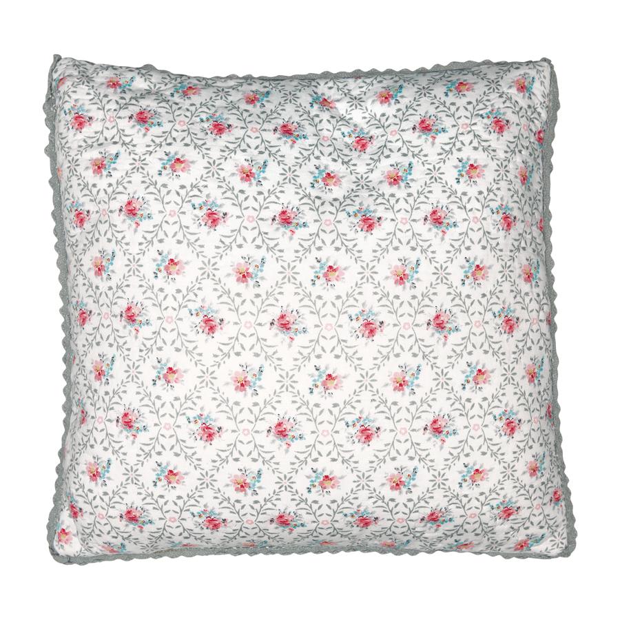 greengate kissenh lle daisy pale grey 40x40 online kaufen emil paula. Black Bedroom Furniture Sets. Home Design Ideas