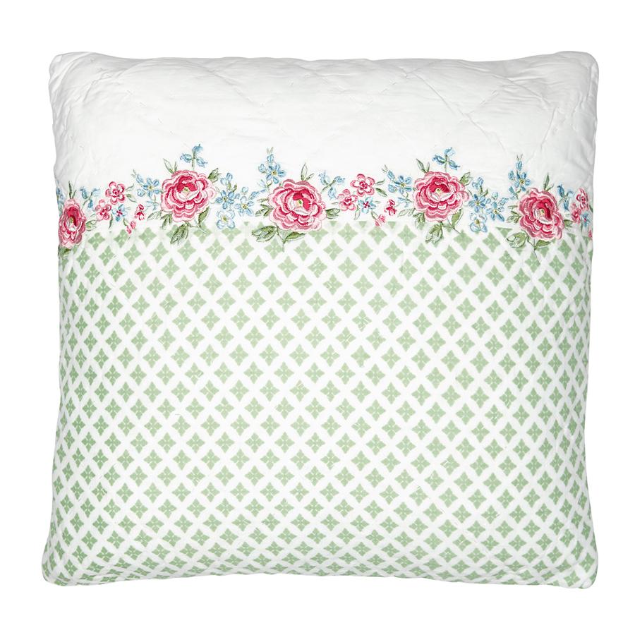 greengate kissenh lle meryl white embroidery 40x40 online kaufen emil paula. Black Bedroom Furniture Sets. Home Design Ideas