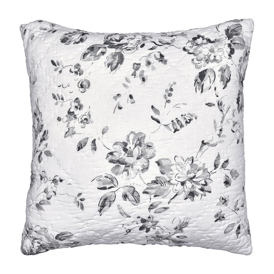 greengate kissen amanda dark grey 50x50 online kaufen emil paula. Black Bedroom Furniture Sets. Home Design Ideas
