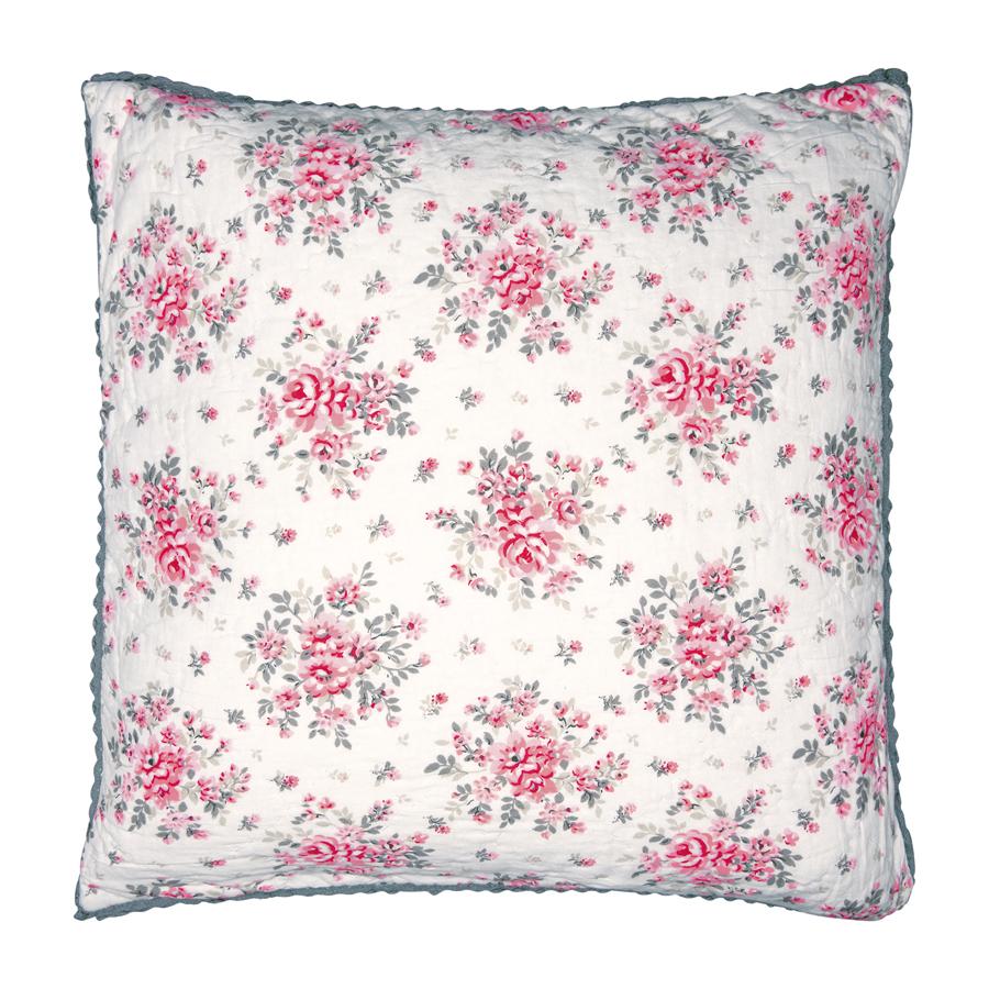 greengate kissenh lle flora white 50x50 online kaufen emil paula. Black Bedroom Furniture Sets. Home Design Ideas