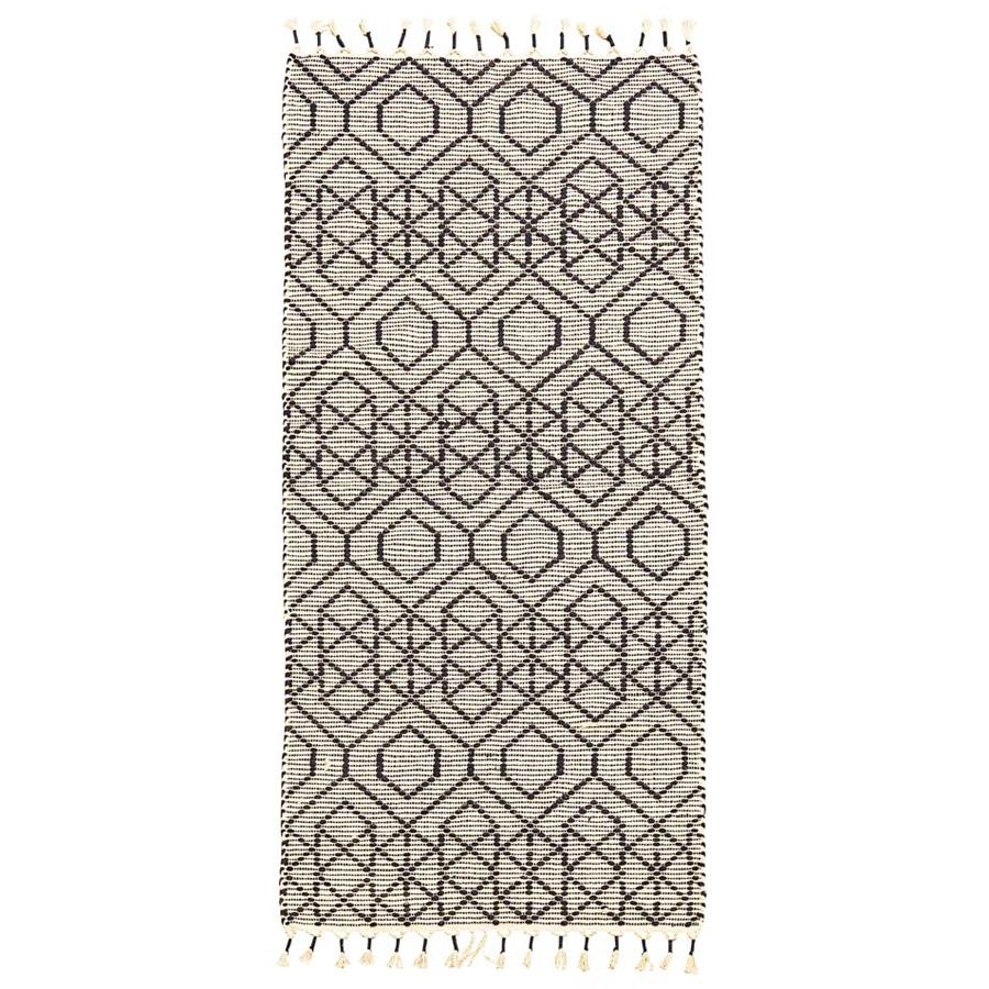 house doctor teppich reverse off white 200 x 90 cm online kaufen emil paula. Black Bedroom Furniture Sets. Home Design Ideas