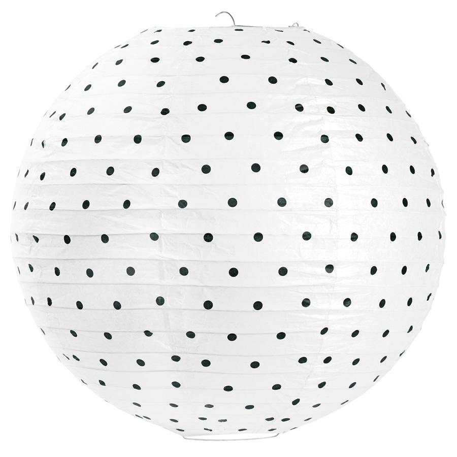 miss toile reislampe black dots gro online kaufen emil paula. Black Bedroom Furniture Sets. Home Design Ideas