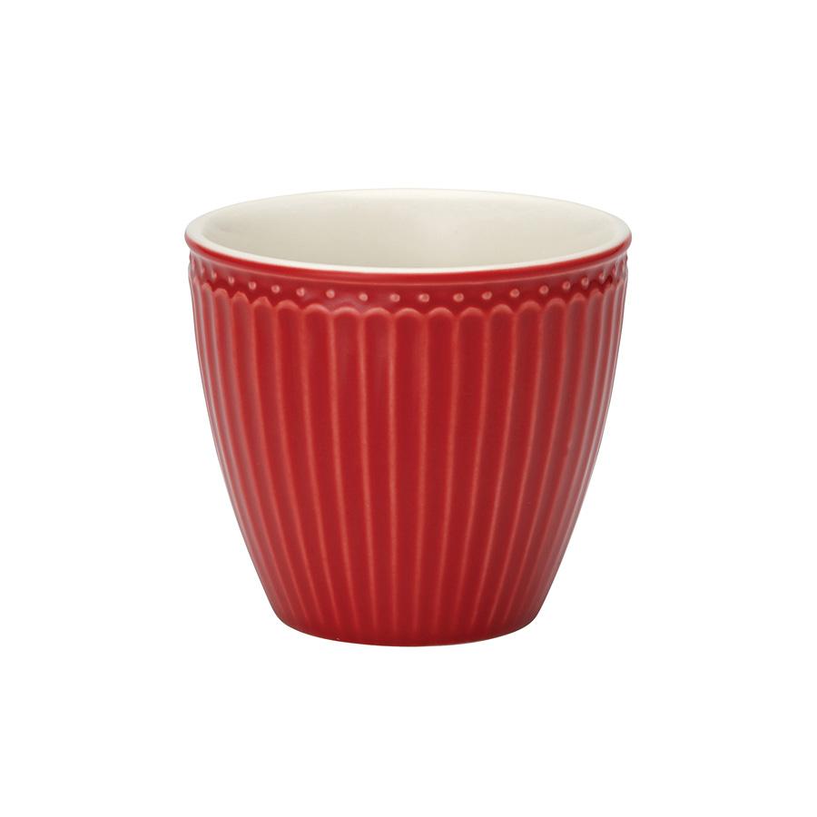 greengate latte cup alice red online kaufen emil paula. Black Bedroom Furniture Sets. Home Design Ideas