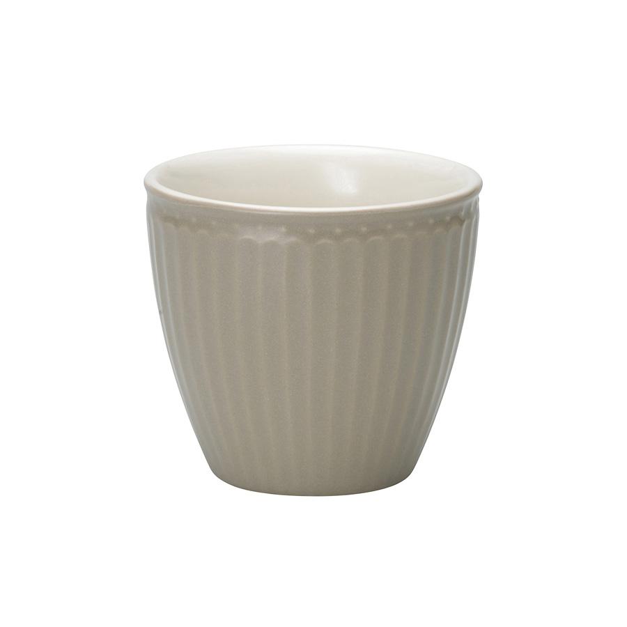 greengate latte cup alice warm grey online kaufen emil. Black Bedroom Furniture Sets. Home Design Ideas