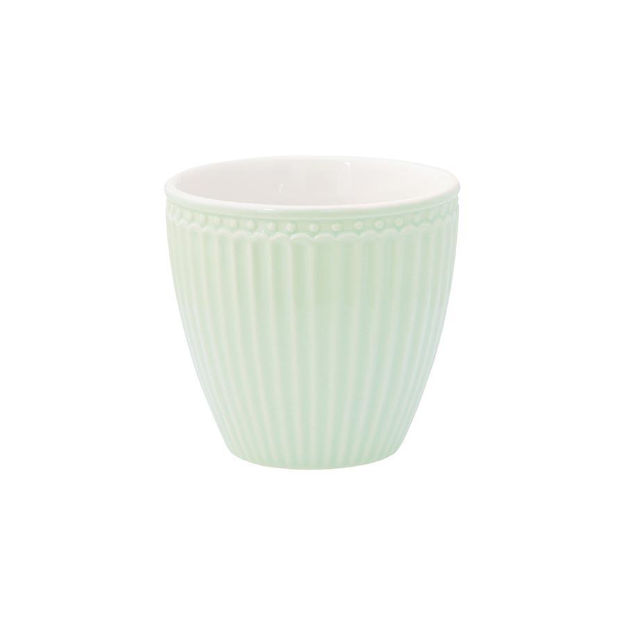 greengate latte cup becher alice pale green online kaufen. Black Bedroom Furniture Sets. Home Design Ideas