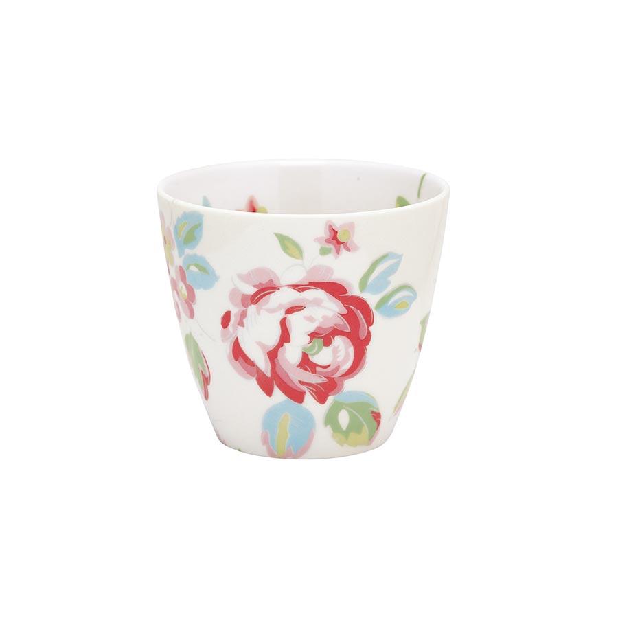 greengate latte cup becher amanda white online kaufen. Black Bedroom Furniture Sets. Home Design Ideas