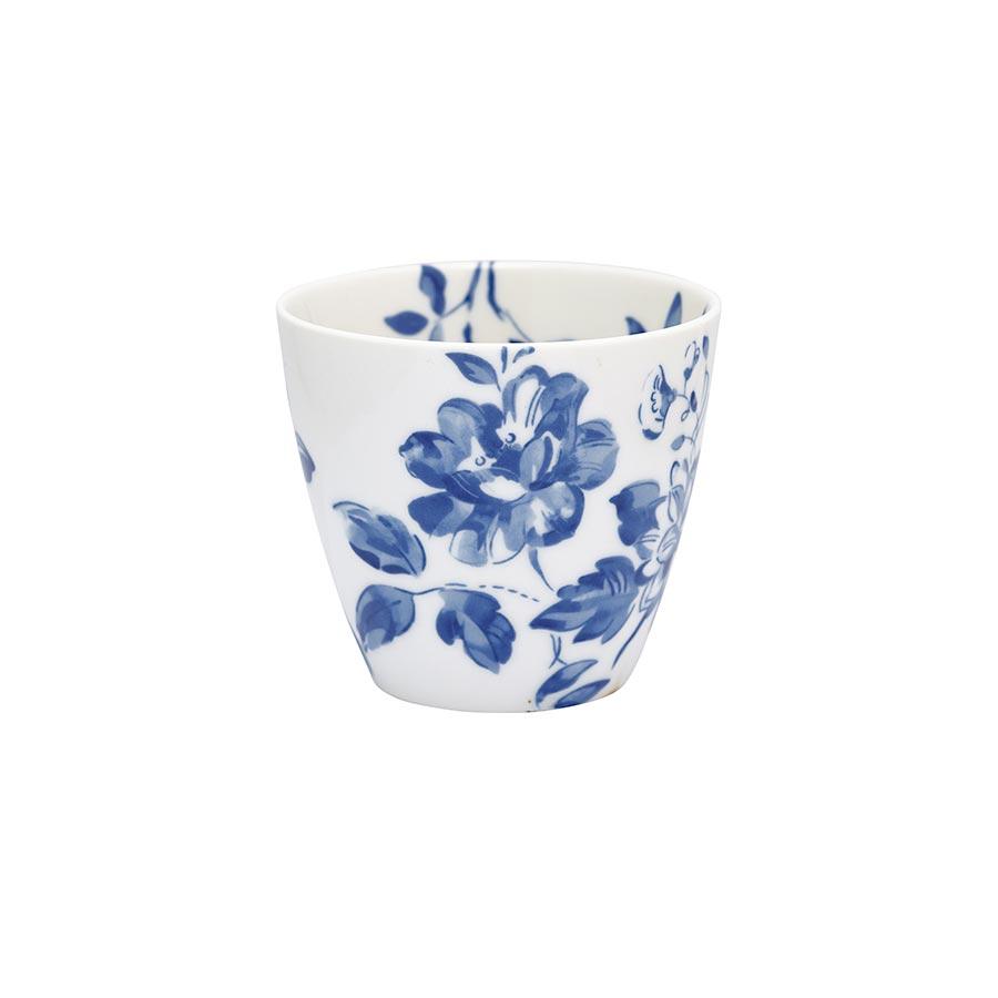 greengate latte cup becher amanda indigo online kaufen. Black Bedroom Furniture Sets. Home Design Ideas