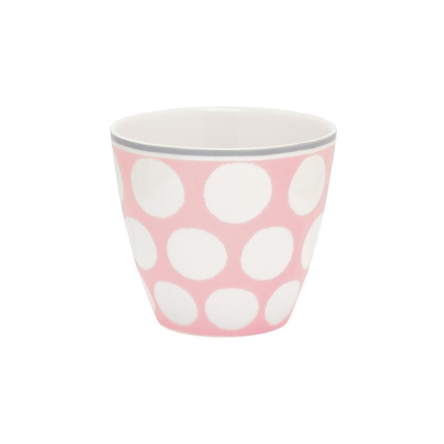 greengate latte cup becher aura peach online kaufen emil. Black Bedroom Furniture Sets. Home Design Ideas