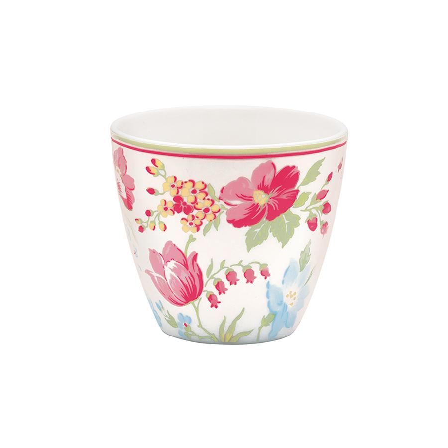 greengate latte cup becher donna white acheter en ligne. Black Bedroom Furniture Sets. Home Design Ideas