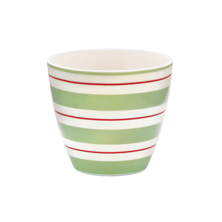 greengate latte cup becher elinor green online kaufen. Black Bedroom Furniture Sets. Home Design Ideas