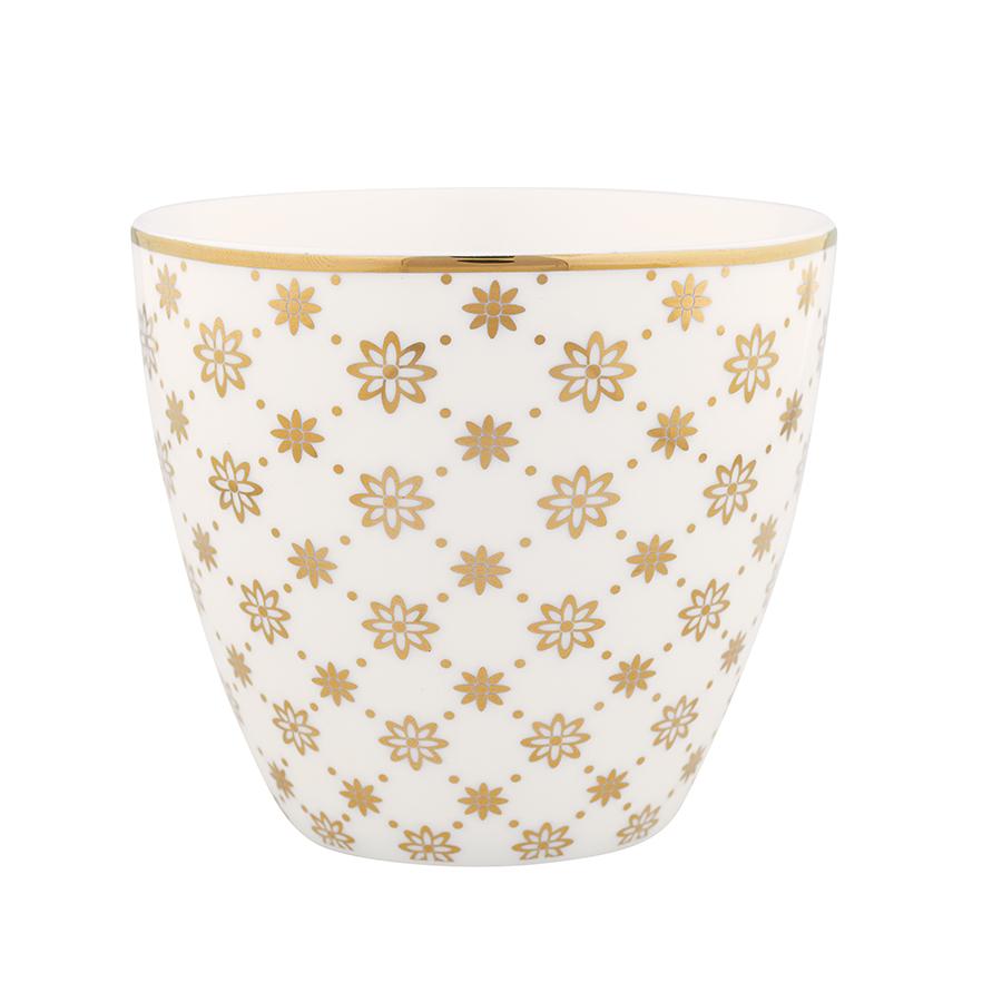 greengate latte cup laurie gold online kaufen emil paula. Black Bedroom Furniture Sets. Home Design Ideas