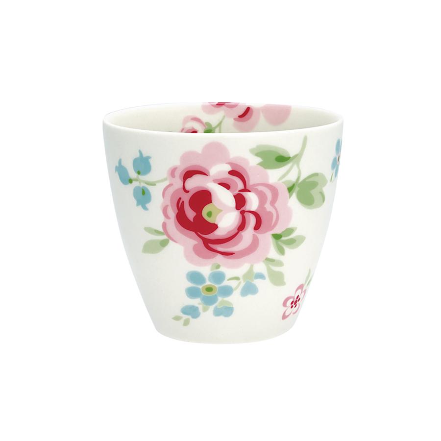 greengate latte cup becher meryl white online kaufen. Black Bedroom Furniture Sets. Home Design Ideas