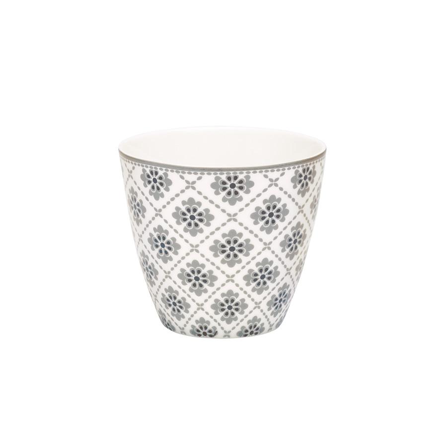greengate latte cup becher oona grey online kaufen emil. Black Bedroom Furniture Sets. Home Design Ideas