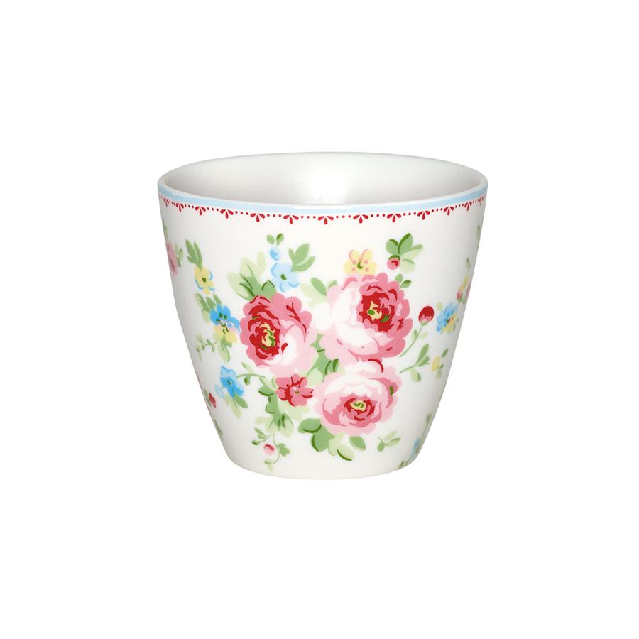 greengate latte cup becher simone white online kaufen. Black Bedroom Furniture Sets. Home Design Ideas