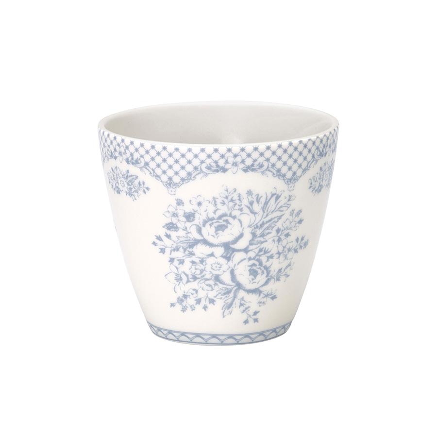 greengate latte cup stephanie dusty blue online kaufen. Black Bedroom Furniture Sets. Home Design Ideas