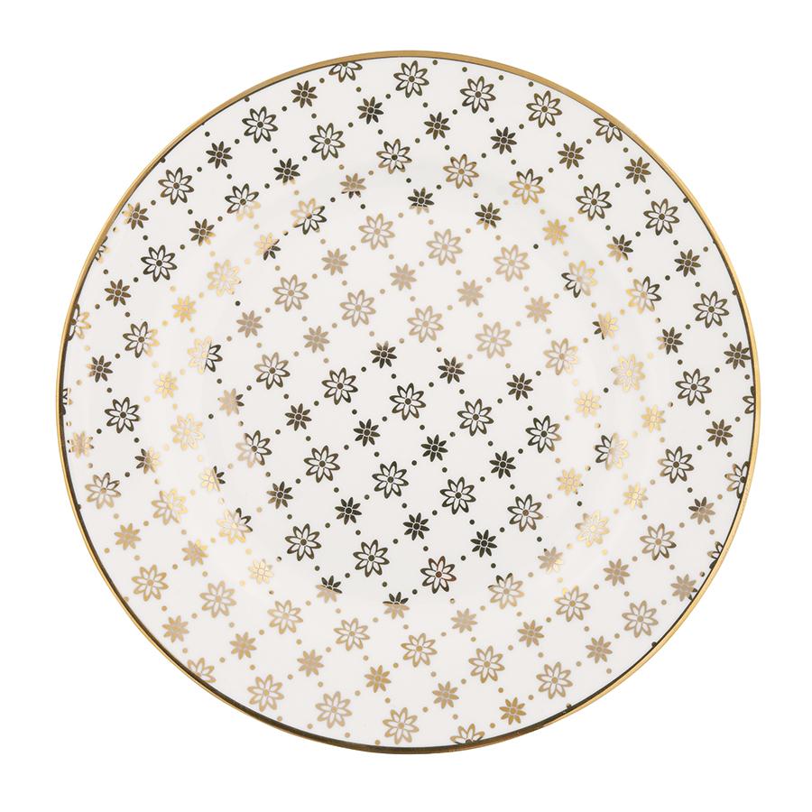 greengate teller laurie gold 20 5 cm online kaufen emil paula. Black Bedroom Furniture Sets. Home Design Ideas