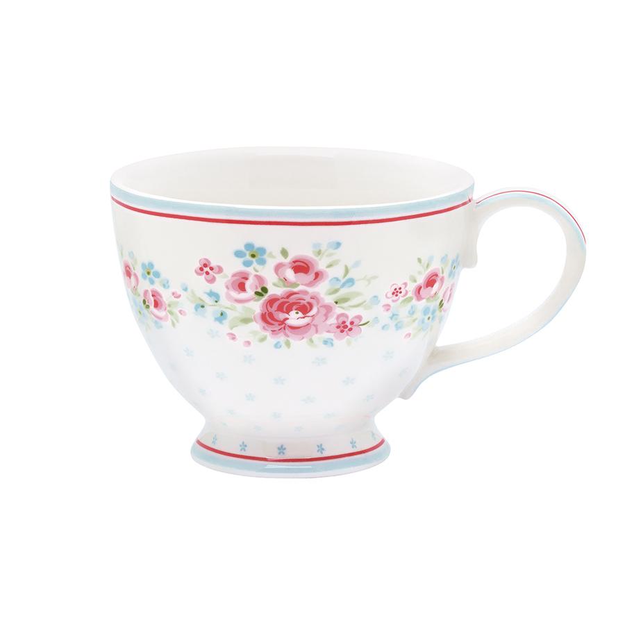 GreenGate Tee-Tasse Tess White online kaufen | Emil & Paula