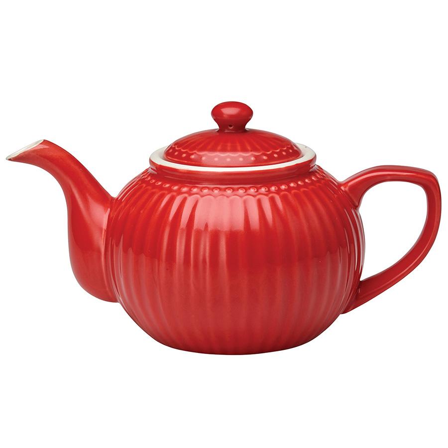 GreenGate Teekanne Alice Red online kaufen | Emil & Paula