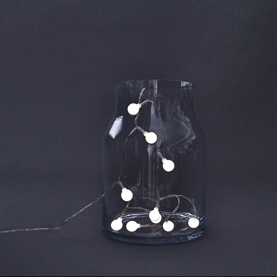 house doctor lichterkette globe 15 led lights online kaufen emil paula. Black Bedroom Furniture Sets. Home Design Ideas