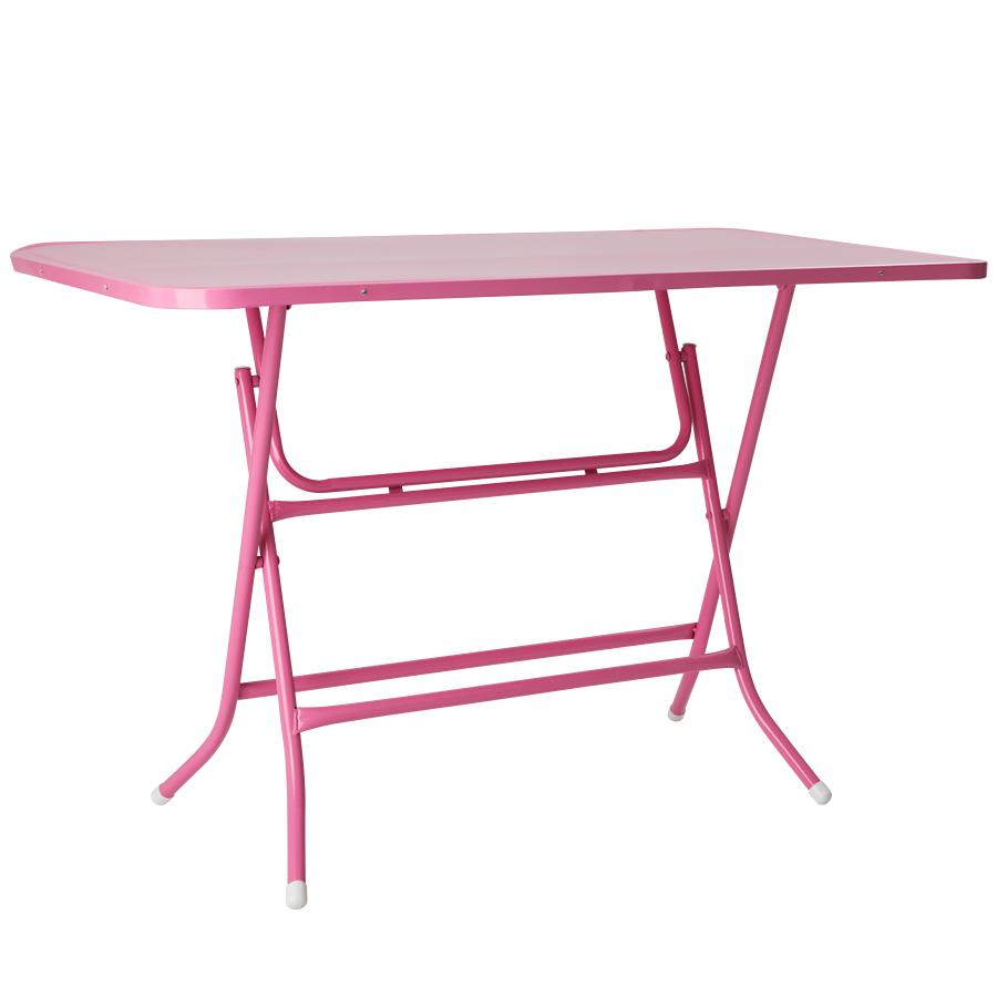 rice tisch klappbar pink online kaufen emil paula. Black Bedroom Furniture Sets. Home Design Ideas