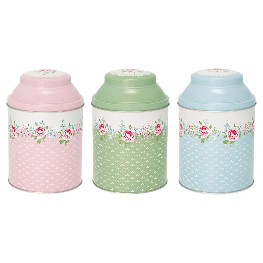 GreenGate Tee-Box Meryl White 3er-Set online kaufen | Emil & Paula