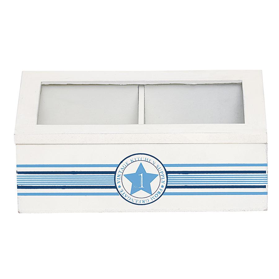 greengate aufbewahrungsbox holz no1 indigo online kaufen. Black Bedroom Furniture Sets. Home Design Ideas
