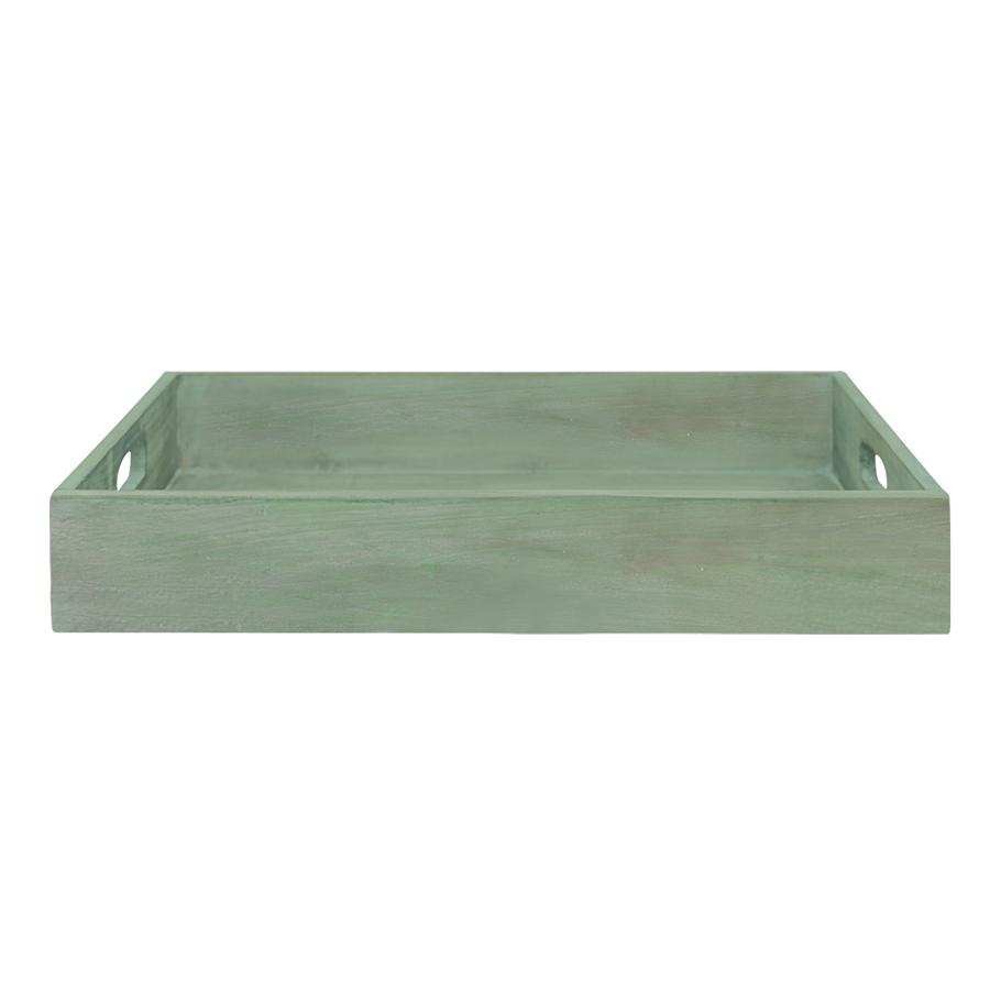 greengate holztablett mit griffen green online kaufen emil paula. Black Bedroom Furniture Sets. Home Design Ideas