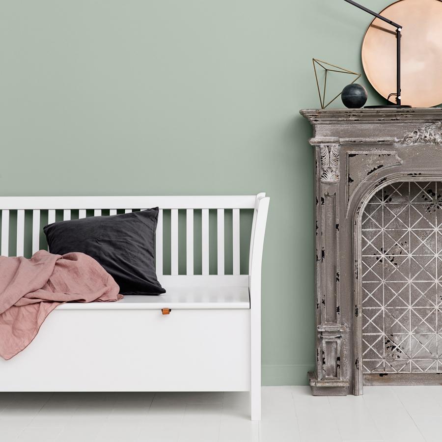 Oliver furniture große truhenbank mit sprossen weiß online kaufen ...