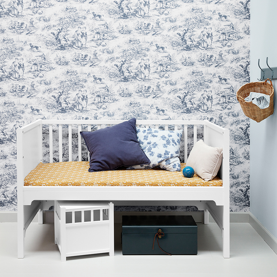 oliver furniture baby und kinderbett seaside wei. Black Bedroom Furniture Sets. Home Design Ideas