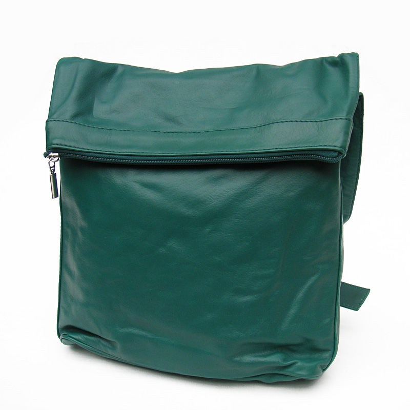 sticks and stones ledertasche flap bag jade green online. Black Bedroom Furniture Sets. Home Design Ideas