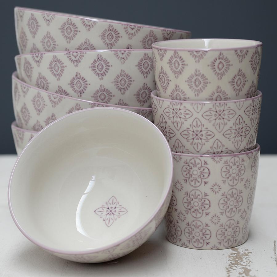 ib laursen schale klein casablanca lila online kaufen. Black Bedroom Furniture Sets. Home Design Ideas
