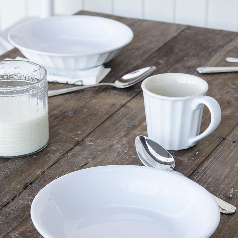 ib laursen becher mit henkel mynte pure white online kaufen emil paula. Black Bedroom Furniture Sets. Home Design Ideas