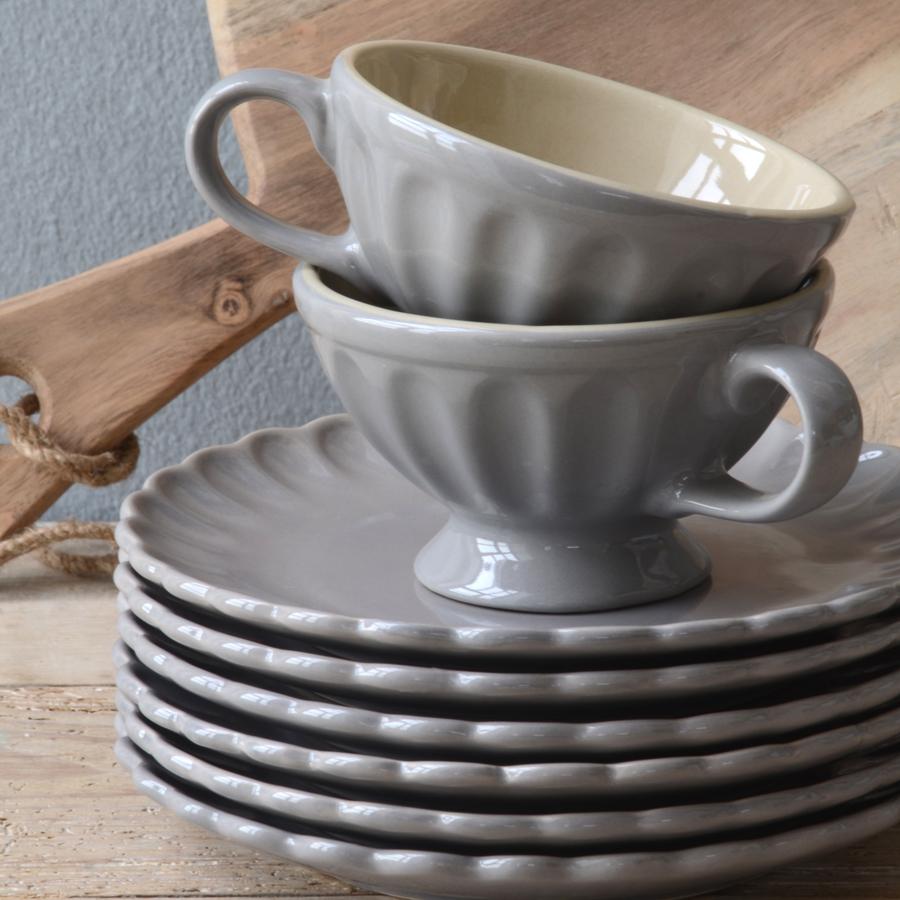 ib laursen dessertteller mynte french grey online kaufen. Black Bedroom Furniture Sets. Home Design Ideas