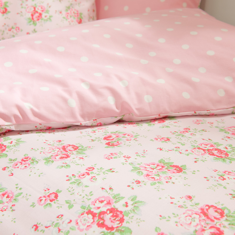 cath kidston bettw sche spray flowers pink online kaufen emil paula. Black Bedroom Furniture Sets. Home Design Ideas