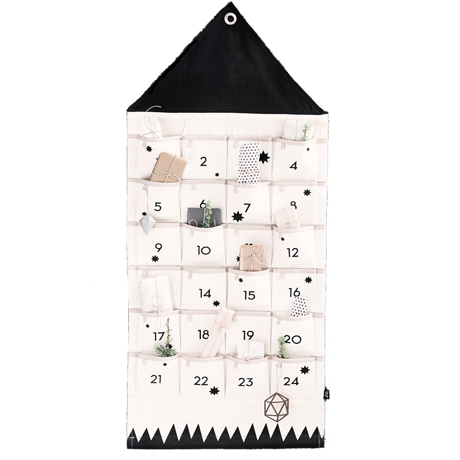 ferm living adventskalender haus online kaufen emil paula. Black Bedroom Furniture Sets. Home Design Ideas